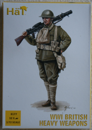 HaT 1/72 HAT8177 British Heavy Weapons (WW1)